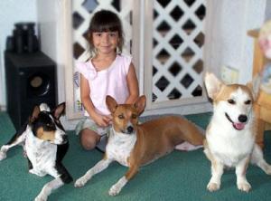 Basenjis_and_children-Tana_White